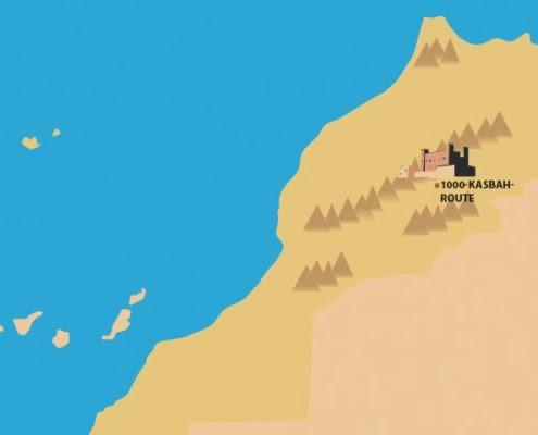 Dades Vallei Marokko- wandelvakantie