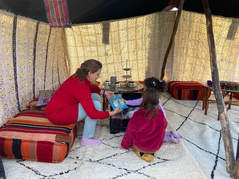 1001 nacht nomaden tent