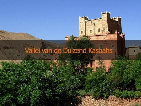 Kasbah Route Bouwsteen