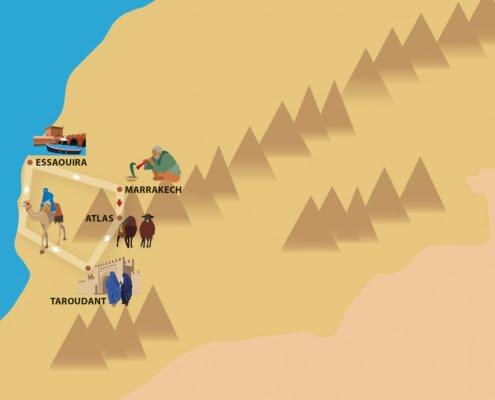 Van de Atlas naar de Kust-een actieve gezinsvakantie Marokko