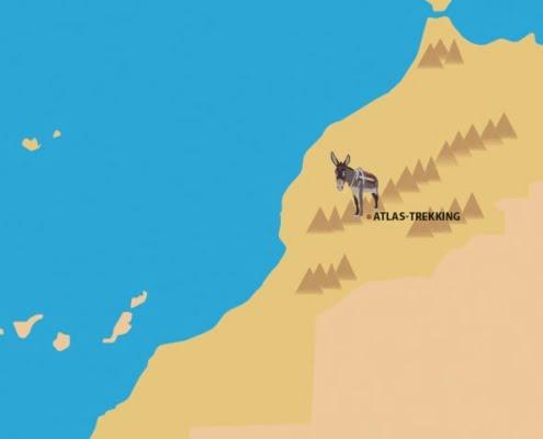 Wandelen Atlasgebergte Marokko- Hoge Atlas