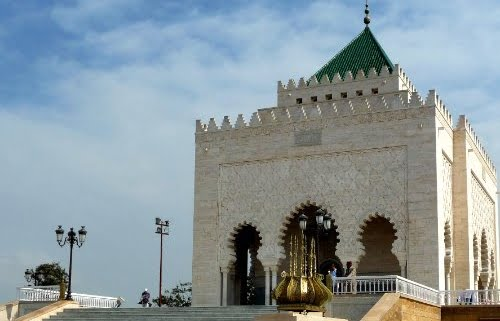 Rondreis Marokko 10 dagen-Rabat-Mausoleum Mohammed V