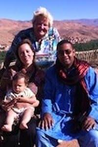 Erica op reis in Marokko