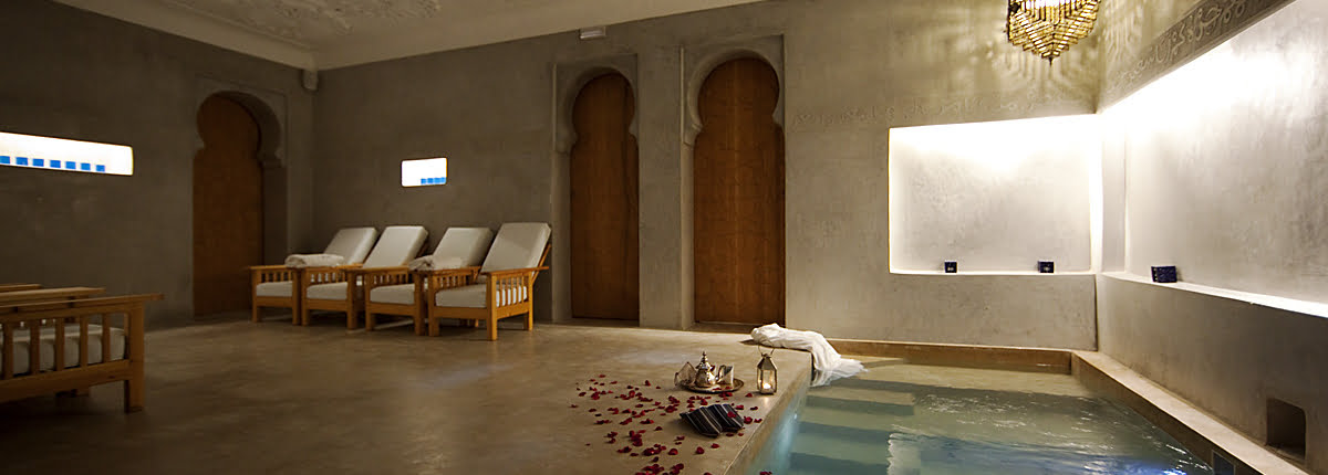 Hammam-Marrakech met arganolie massage