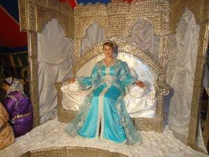 Marokkaanse bruiloft jurk