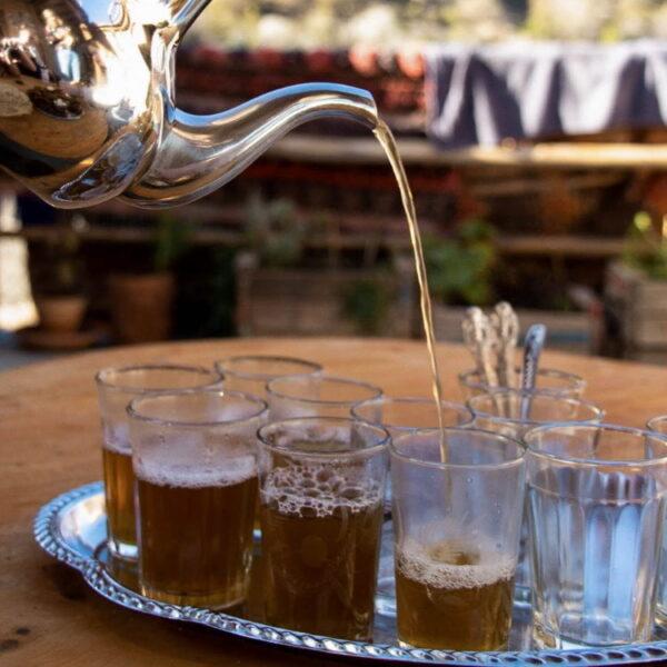 Marokkaanse theeceremonie
