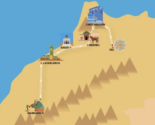 Rondreis Marokko 10 dagen: Paleizen en Spijzen
