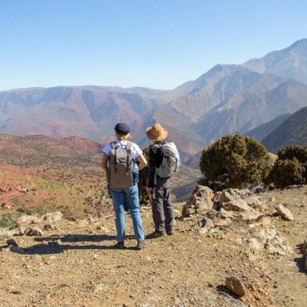 Uitzicht Hoge Atlas Marokko