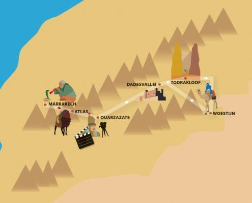 Woestijnavontuur incl kamelentocht Marokko- Familiereis