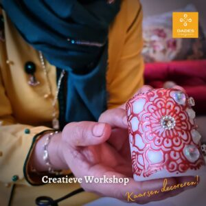 Workshop henna kaarsen maken