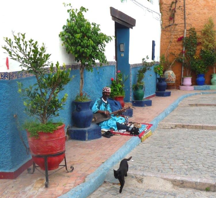 Gnaoua muzikant- Culturele rondreis Marokko