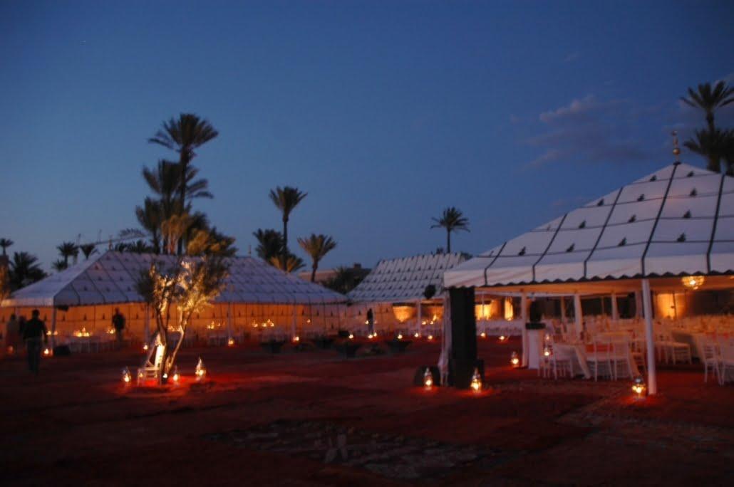 Luxe kamp woestijnreis huwelijksreis Marokko