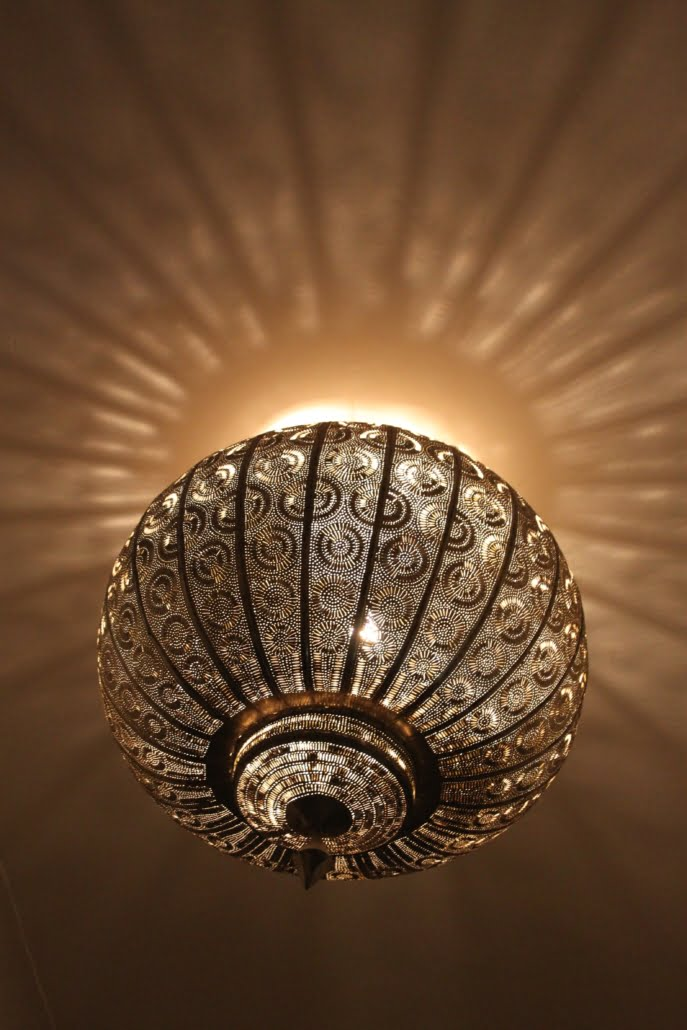 Mooie lamp Marokko woestijnreis