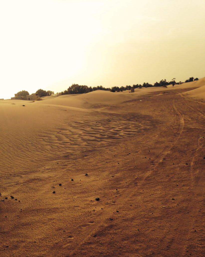 Off road in de Sahara Marokko