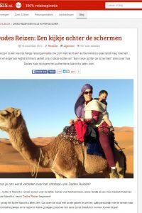 Artikel rondreis.nl- Dades Reizen Media