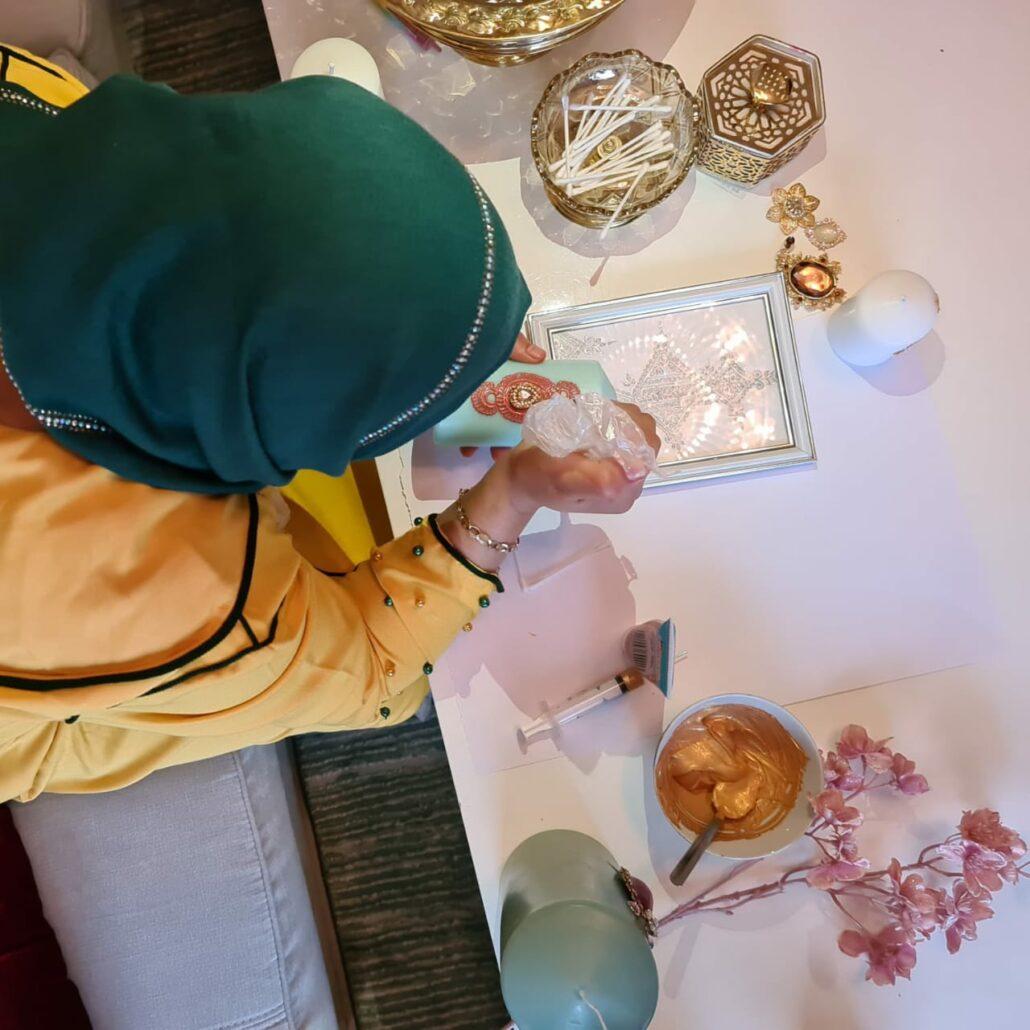 Workshop henna kaarsen