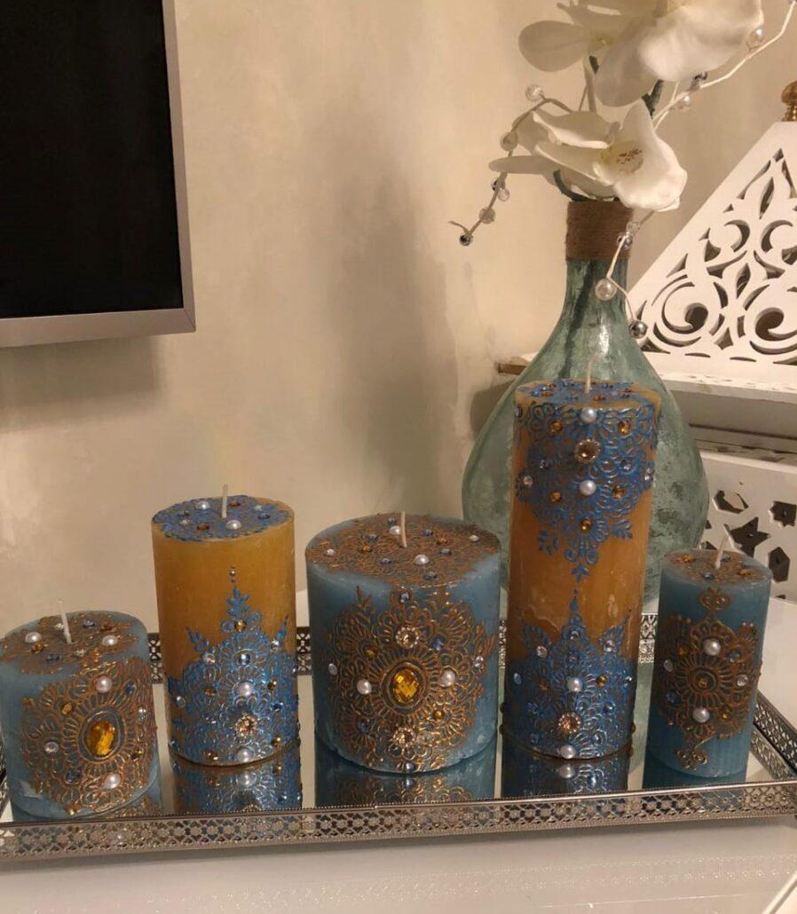Henna kaarsen