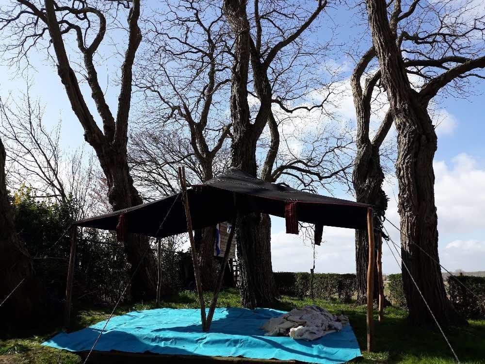 lege nomaden tent
