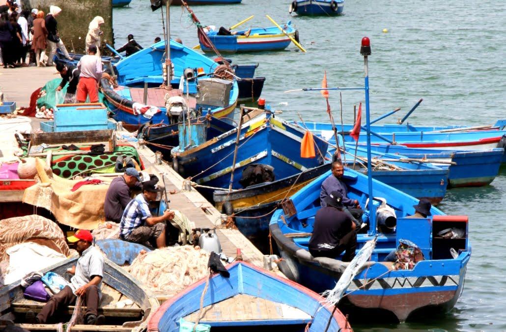 Noord Marokko individuele rondreis- blauwe bootjes