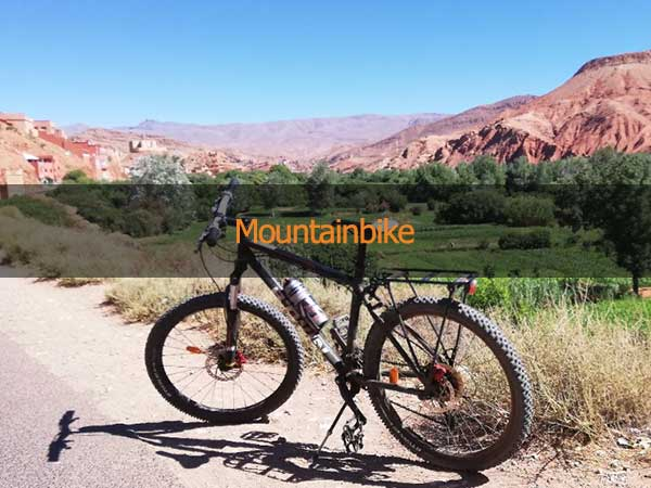 Mountainbike Djbel Sahro