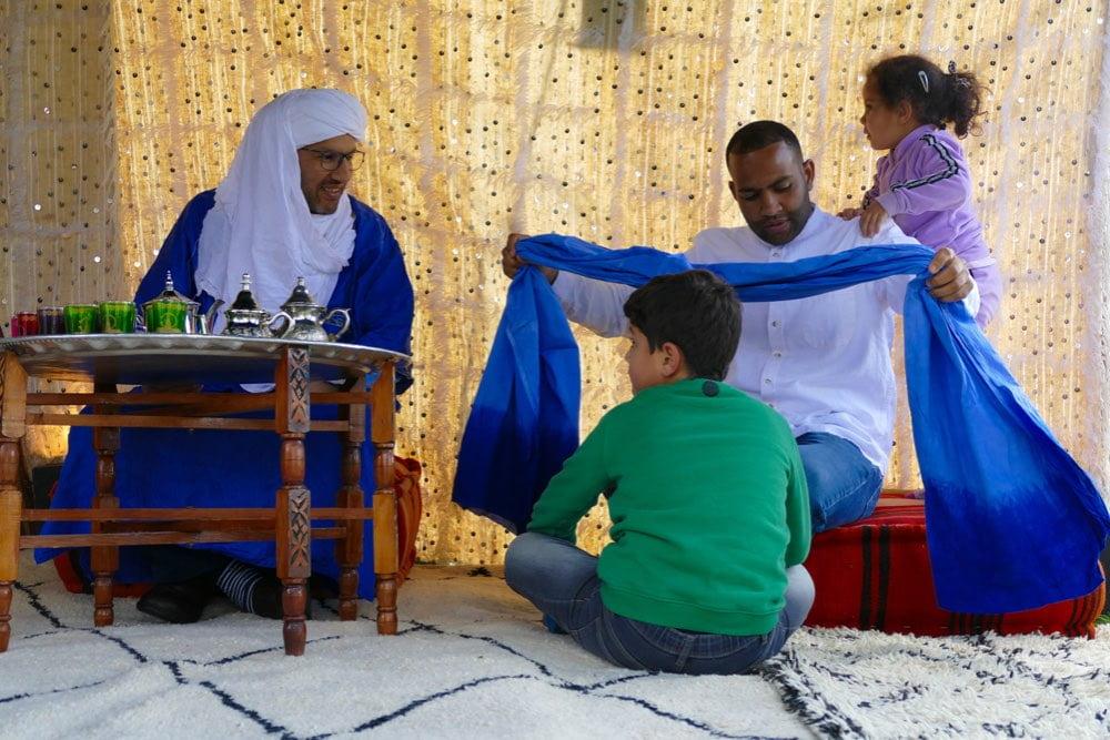 nomaden tent huren thee